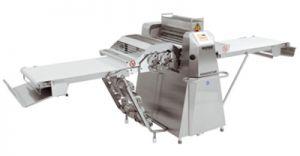 Ausrollmaschine Cutomat mit Schneidestation