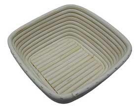 Teigkörbchen Peddigrohr (Quadrat)