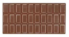Tafel-Schokoladenform Classic