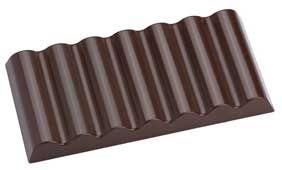 Tafel-Schokolandeform Wellen