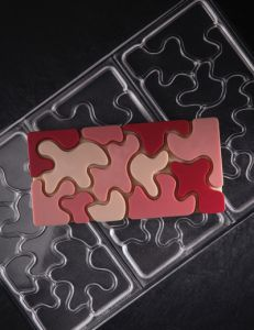 Tafel-Schokoladeform Camouflage