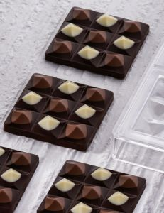 Tafel-Schokoladeform Mini Moulin