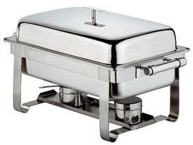 Chafing Dish mit flachem Deckel