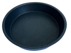 Crisp-Platte rund hoch