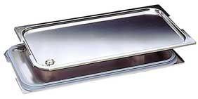 GN-Flachdeckel mit Silikondichtung